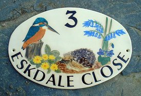 Eskdale Close Oval Sign