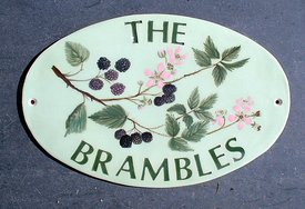 The Brambles Oval Sign