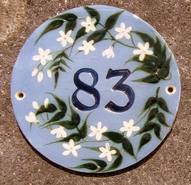 White Star 83 Round Sign